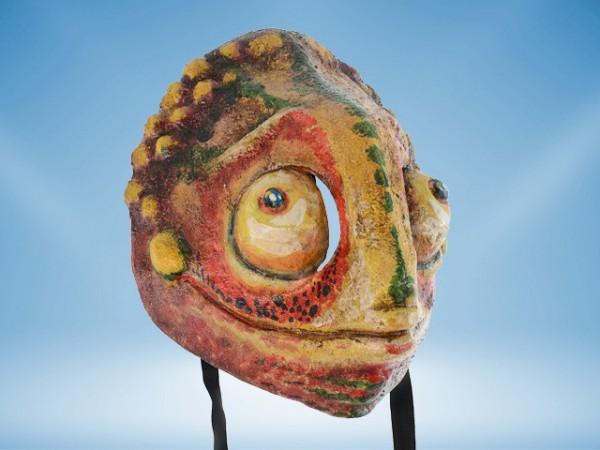 Masker van een Kameleon