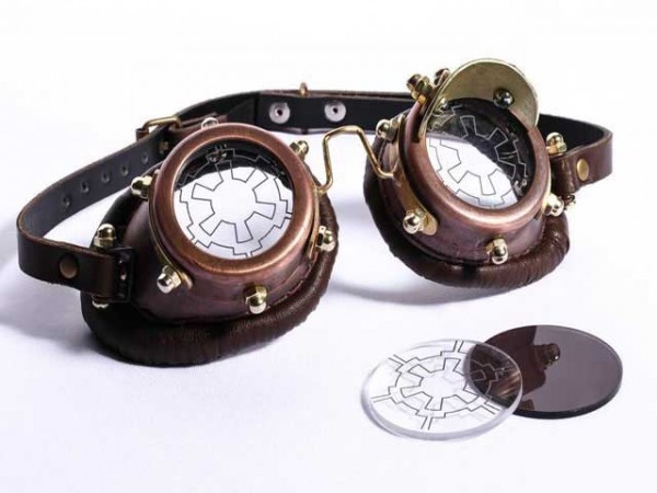 "Steampunk goggles ""Vector"