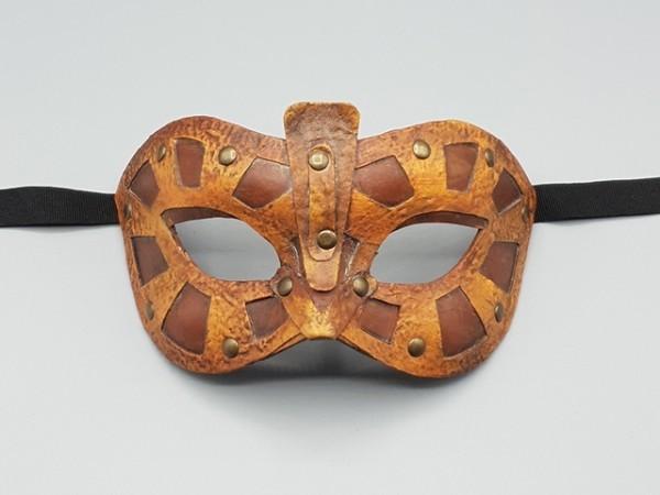 Steampunk mask Viking