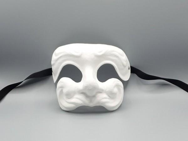 Blanco Commedia dell'arte masker Dottore