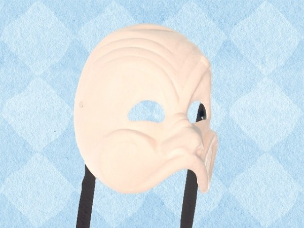 it Commedia dell'arte masker Arlecchino